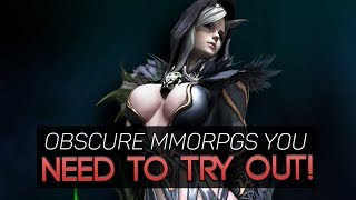 The Best MMORPGs You Don't Know About That You Should Try Out!