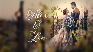 ALEX AND LEN wedding trailer