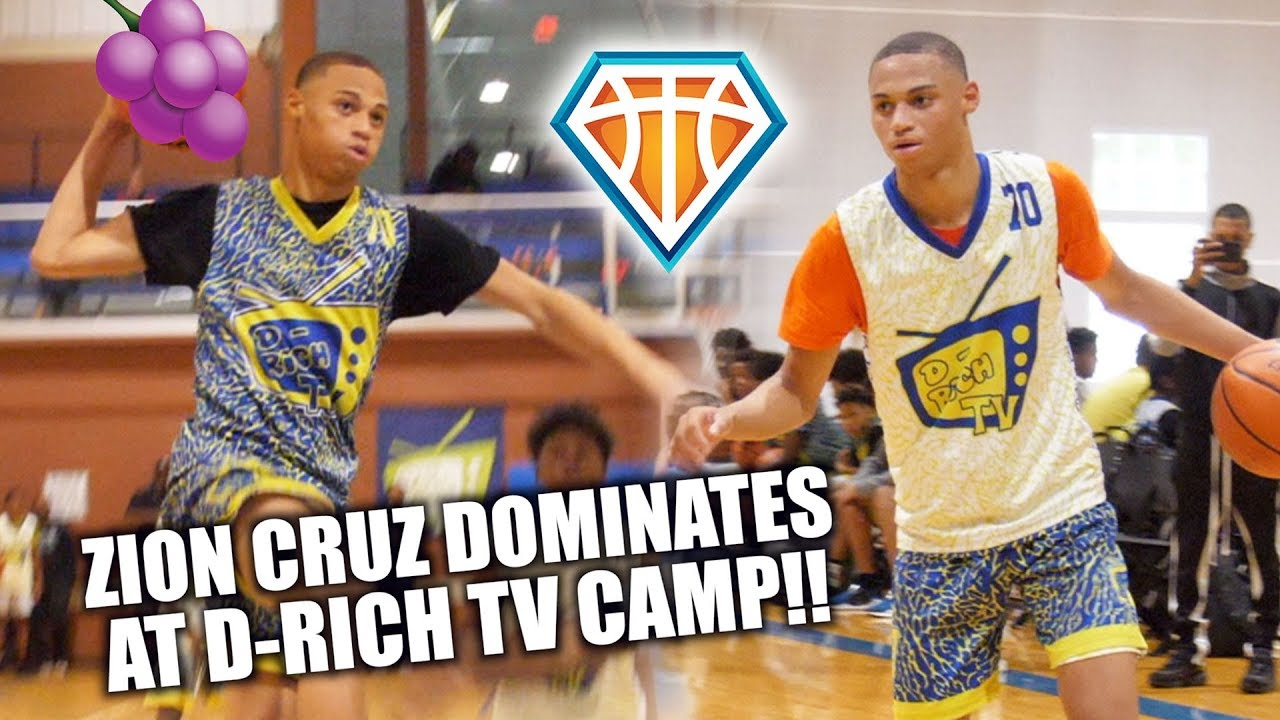 2022 Zion Cruz GETS JELLY CERTIFIED at D-Rich TV Camp ...