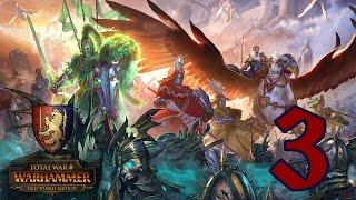 Прохождение Total War: WARHAMMER - Королевство Бретонния #3 - Имперские раскольники
