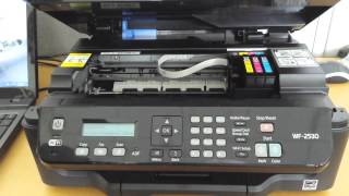 Replace ink cartridge Epson WF-2530