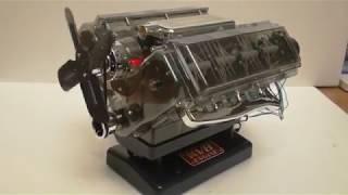 maquette moteur V8 Hayne 1/6  ( engine V8 model )
