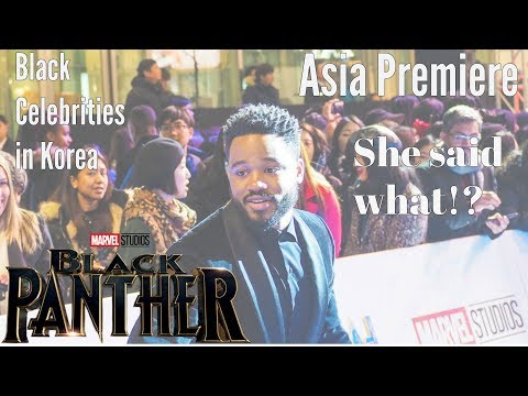 What REALLY went down at the Black Panther Movie Asia Premiere| Life in Korea