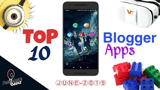 Top 10 Best Android Apps For Blogger's To Make Blogging Easier!