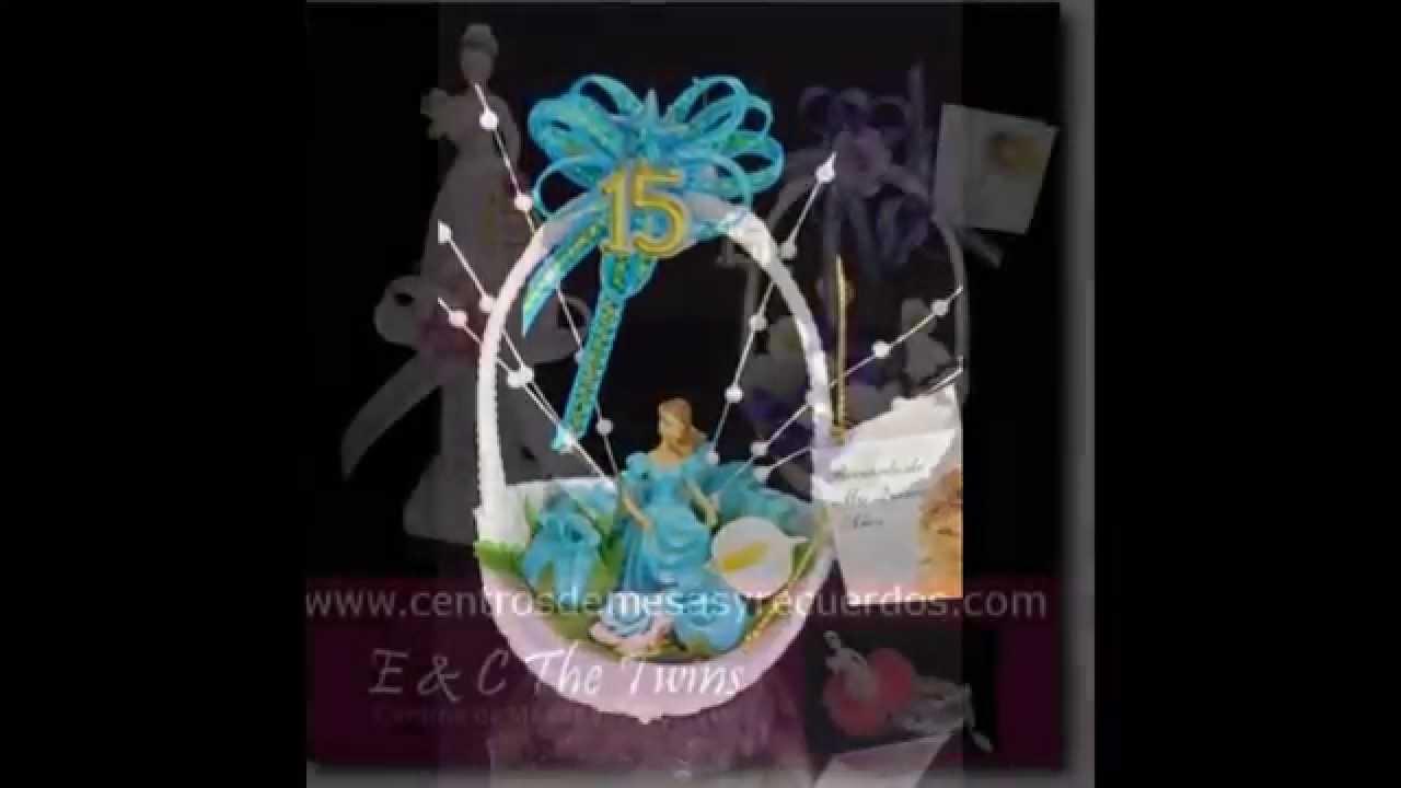 Quinceaneras sweet 15 mis quince recuerdos centros de - Centros de mesa para quinceaneras ...
