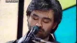 Andrea bocelli - il mare calmo della sera (live) - sanremo 1994