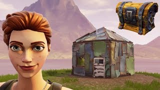 The ONE HUT Challenge In Fortnite Battle Royale!