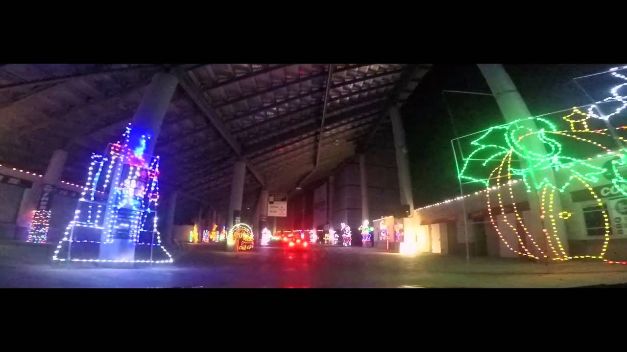 Texas motor speedway gift of lights youtube for Gift of lights texas motor speedway