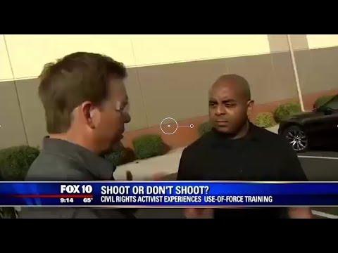 BLM Activist Experiences Shoot or Don't Shoot Scenarios...Epic Fail!