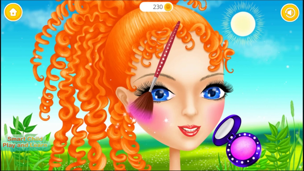Fun Animals Care Princess Makeover Magic Kids Games For