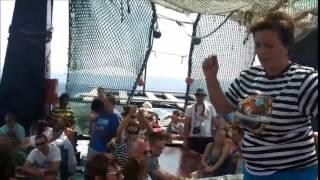 Plaukiojimas Kroatija Makarska Jadran