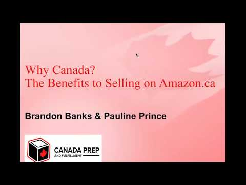 Why Sell On Amazon Canada?