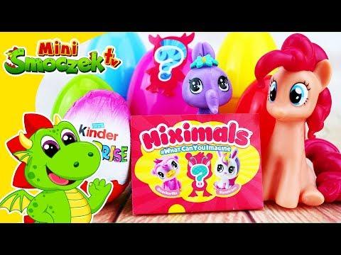 My Little Pony Pinkie Pie i Zwierzaki Miximals Bajki Zabawki Niespodzianki Dla Dzieci Po Polsku