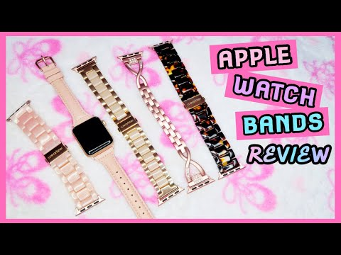 Apple Watch Bands! (Wearlizer Review)