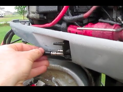 VRO Removal Disconnecting VRO Capping Evinrude Johnson