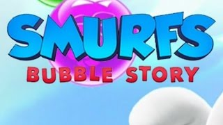 Smurfs bubble story level 100
