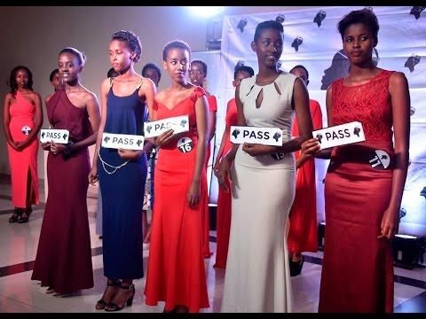 MISS RWANDA 2017: FIVE GIRLS TO REPRESENT KIGALI CITY