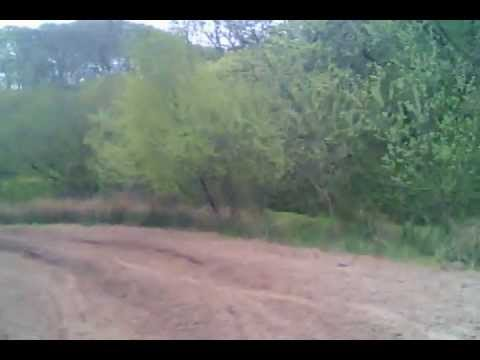 Motocross track at High Newton,