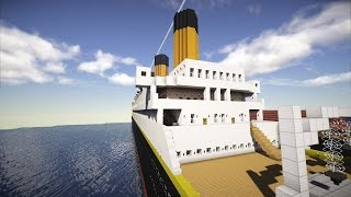 MINECRAFT - Titanic Film 2017