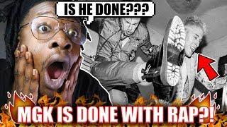 Machine Gun Kelly Quits Rap? (My Thoughts On MGK Pop Punk Album)