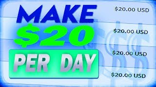 How to make money online in 5 Minutes ($20+ per day)