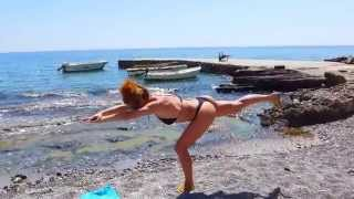 Butt Workout on the Beach Burn Back Thigh Arms and Shoulders