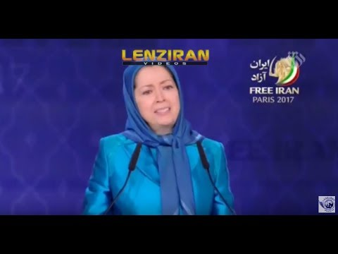 John Bolton and Marym Rajavi in Iranian TV report about Mujahedin Kalgh MKO