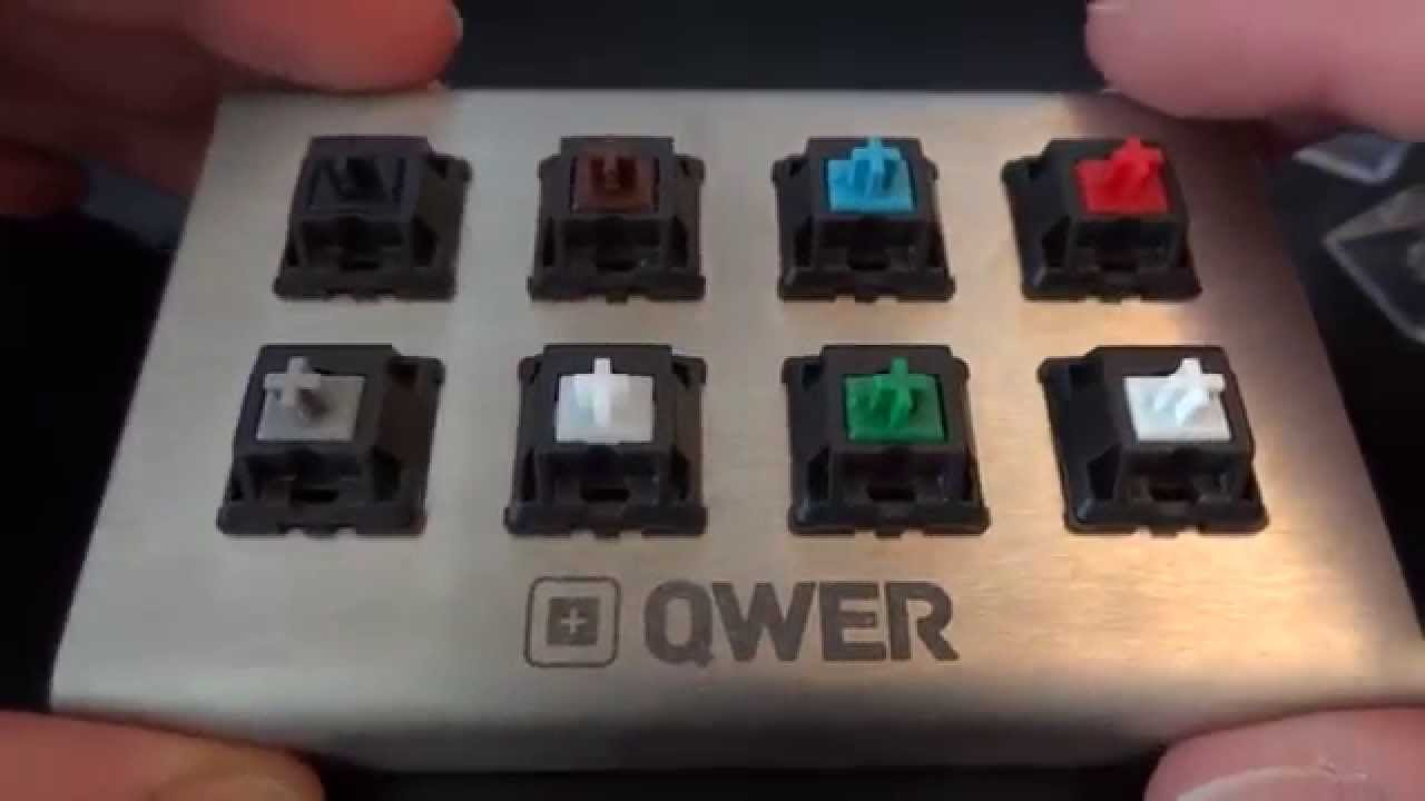 A Guide to Mechanical Keyboard Switches - QWER8 V2 Testing Kit - By ...