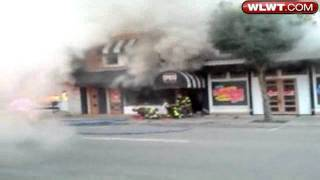 Caught On Camera: Backdraft Explosion At Franklin Fire