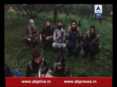 Video shows Hizbul Mujahideen, Lashkar-e-Taiba's terrorists, 9 new faces noticed