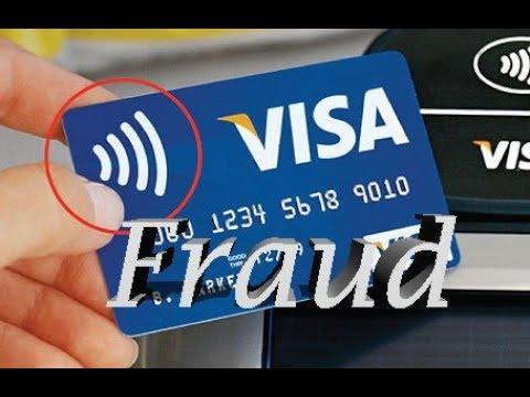 Alert: Debit & Credit Card NFC Fraud Warning / WIFI Symbol / No Pin / No Swipe