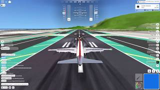Landing in Acceleration FS (roblox)