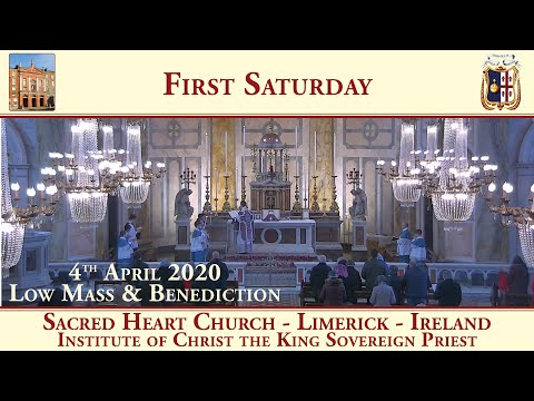 Sacred Heart Church - Limerick - Traditional Latin Mass - 4th April 2020