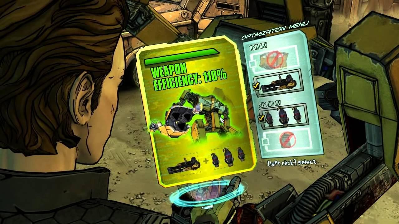 Tales Of Borderlands - Loader Bot Combat All -7957
