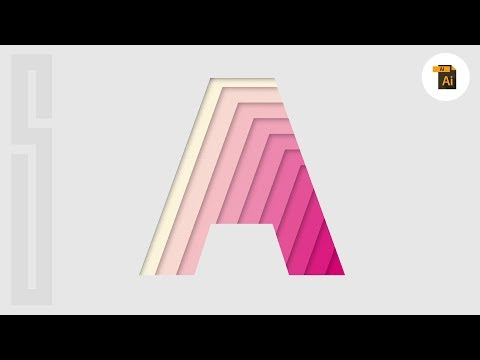 Vector Paper Illusion Design MADE EASY! *Illustrator Tutorial*