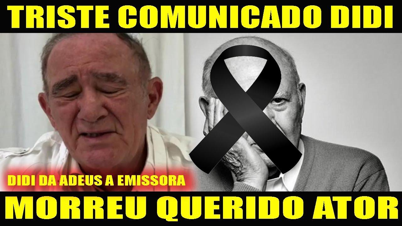 TRISTE: QUERIDO ATOR MORRE HOJE... RENATO ARAGÃO AOS 85 ANOS ENTRISTECE OS FÃS APÓS...