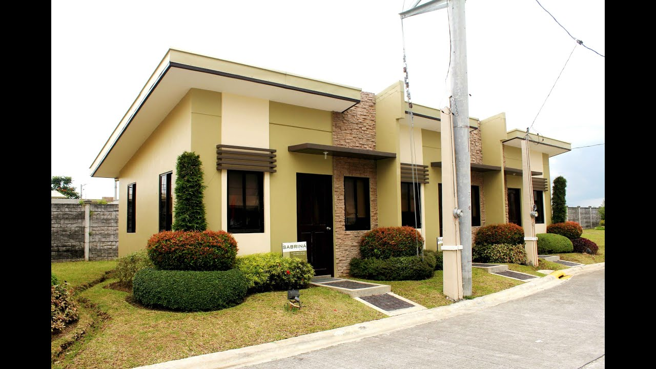 Sabrina house and lot for sale sabrina homes in cavite for Affordable house for you