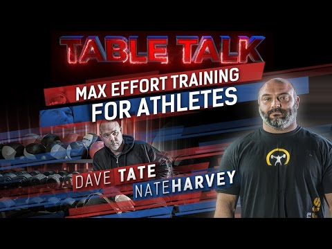 How To Utilize Max Effort Training For Athletes | Elitefts.com
