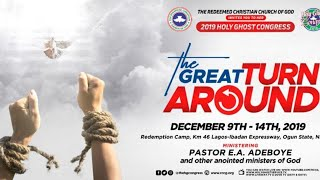 RCCG DECEMBER 2019 HOLY GHOST SERVICE - THE GREAT TURNAROUND