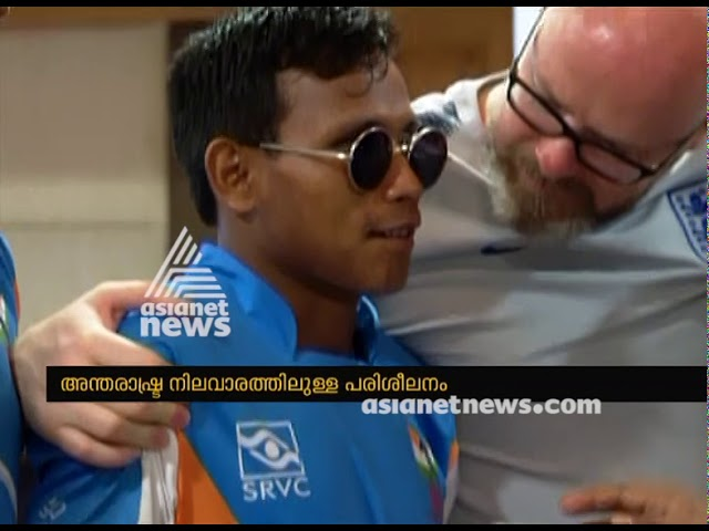 Team of 3 from England, trains Indian Blind football players and Coaches at Kochi