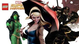 LEGO: Marvel Super Heroes - Blade, Gamora & Gwen Stacey (FREE ROAM)