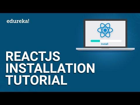 ReactJS Installation Tutorial | ReactJS Installation On Windows | ReactJS Tutorial | Edureka