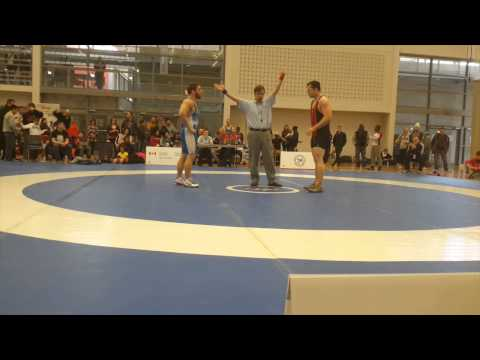 2015 Senior Greco-Roman National Championships: 85 kg Will Grieve vs. Alex Brown-Theriault