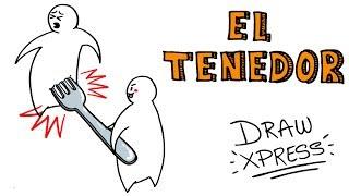 EL ORIGEN DEL TENEDOR 🍴 | DrawXpress