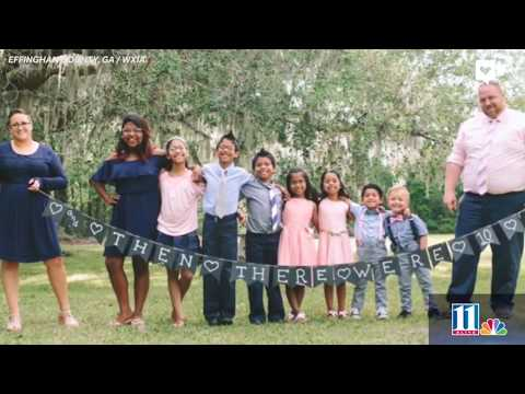 Couple Dreamed Of Big Family So They Adopted 7 Siblings