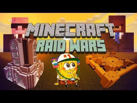A F**KING GHAST!? (Minecraft: Raid Wars #2)