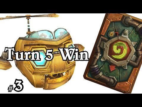 Turn 5 Win Mimirons Head ~ Voltron and WOWHOBBS ~ Hearthstone Heroes of Warcraft