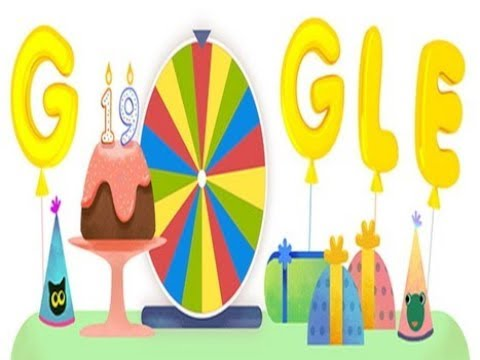 Google Birthday Surprise Spinner Google Snake Game Google Doodle Youtube