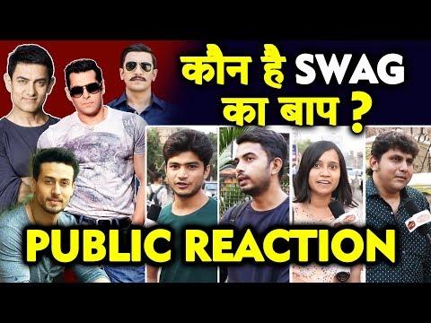 Bollywood में किसका SWAG है सबसे भारी? | PUBLIC REACTION | Salman, Aamir, Ranveer, Tiger Shroff