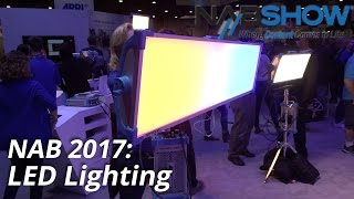 NAB 2017: LED Lighting